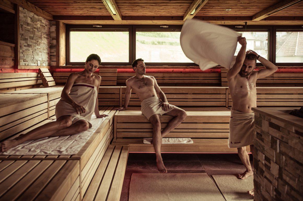 Aufguss Show Sauna