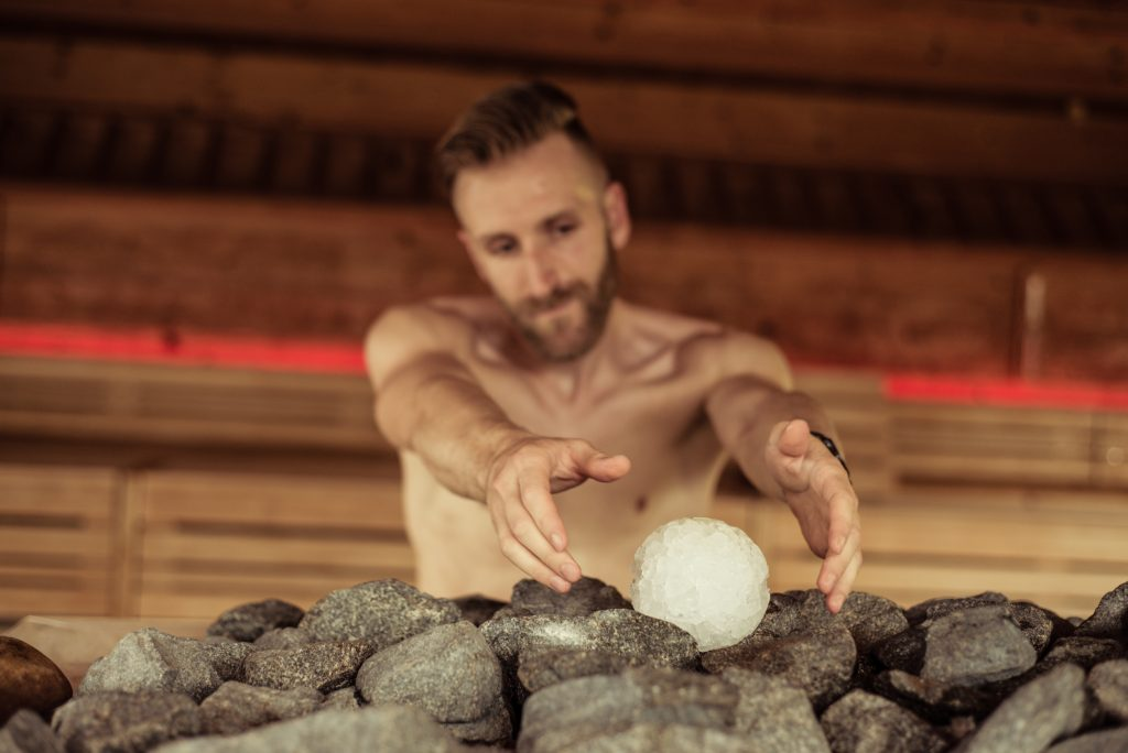 Hot & Ice Aufguss im Wellnesshotel in Suedtirol