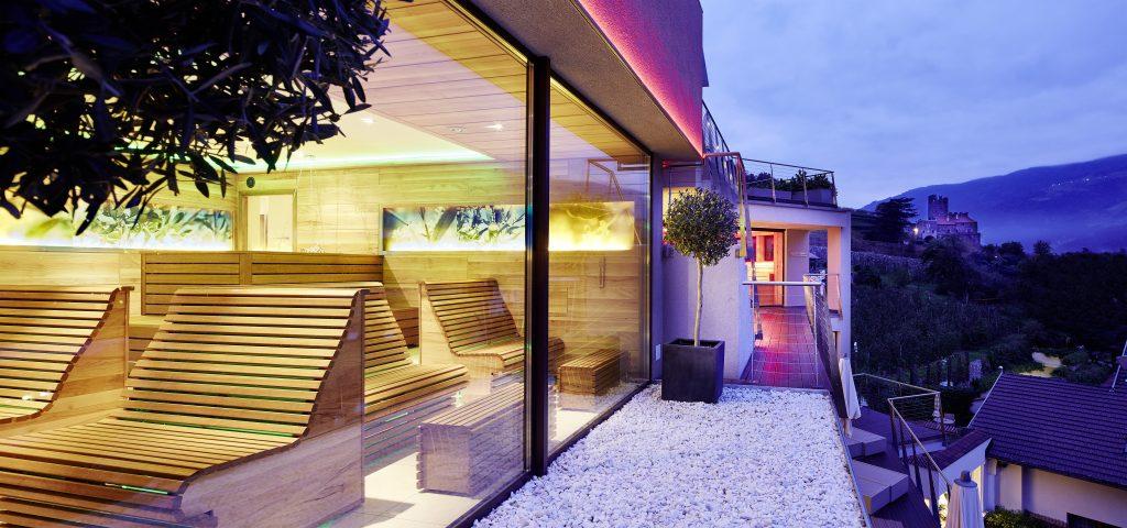 Vacanze benessere in Alto Adige - sauna alle ulive