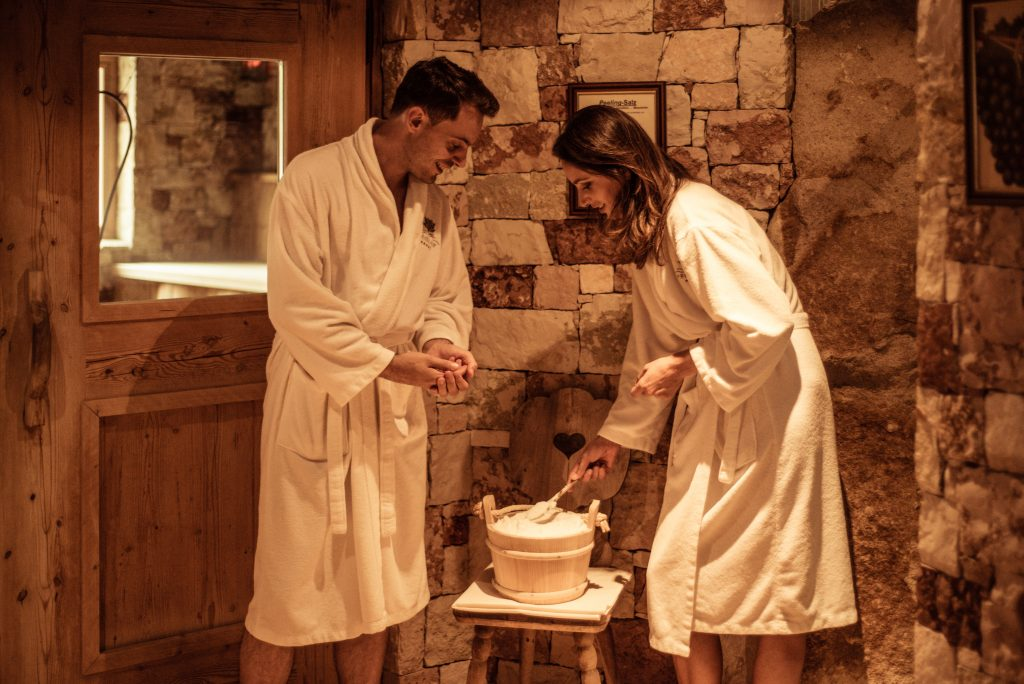 Vacanze benessere in Alto Adige - peeling