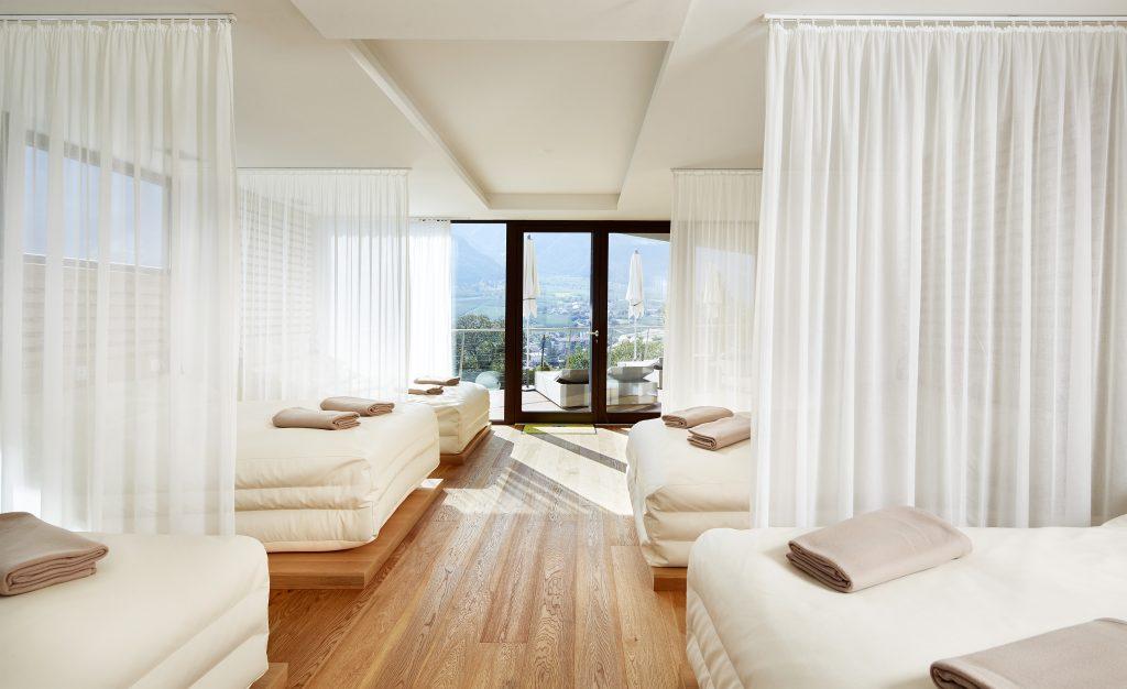 Vacanze benessere in Alto Adige - white silence lounge